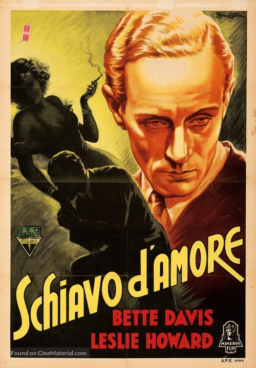 Of Human Bondage - Italian Movie Poster