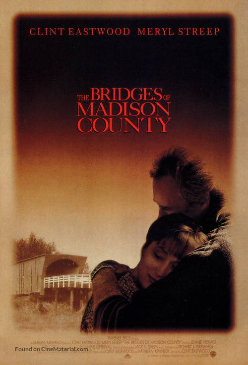 The Bridges Of Madison County - Movie Poster
