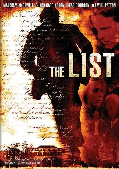 The List - Movie Cover