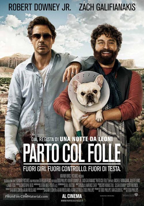 Due Date - Italian Movie Poster