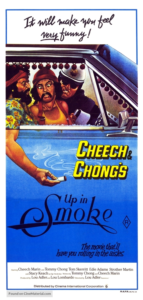 Up in Smoke - Australian Movie Poster