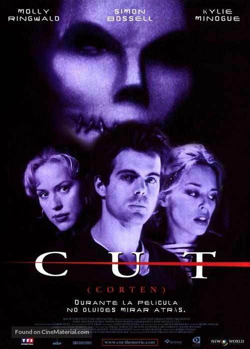 Cut - Spanish Movie Poster