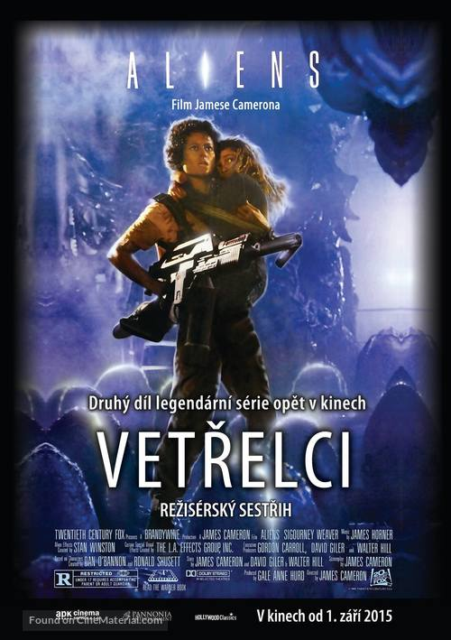 Aliens - Czech Re-release movie poster