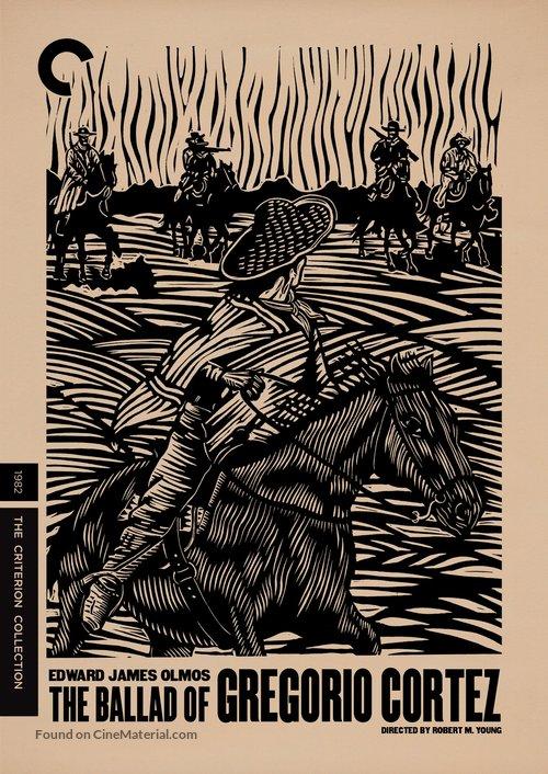 The Ballad of Gregorio Cortez - DVD movie cover