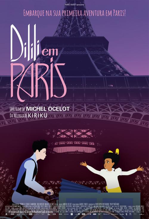Dilili à Paris - Brazilian Movie Poster