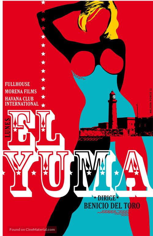 7 días en La Habana - Spanish Movie Poster