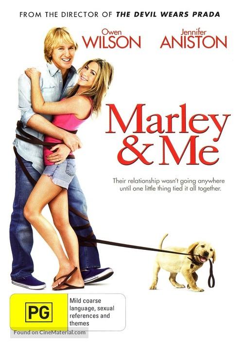 Marley & Me - Australian Movie Cover