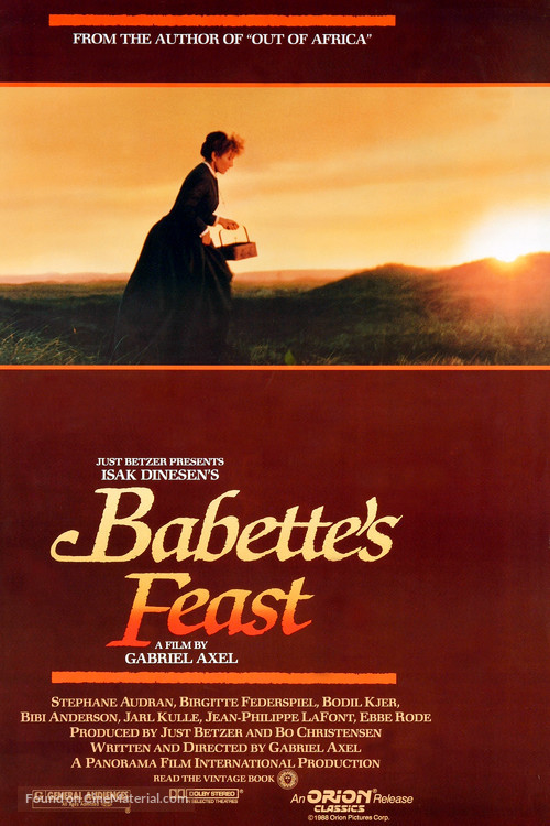Babettes gæstebud - Movie Poster