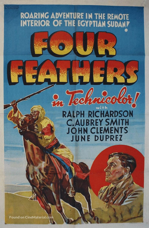 The Four Feathers - Movie Poster