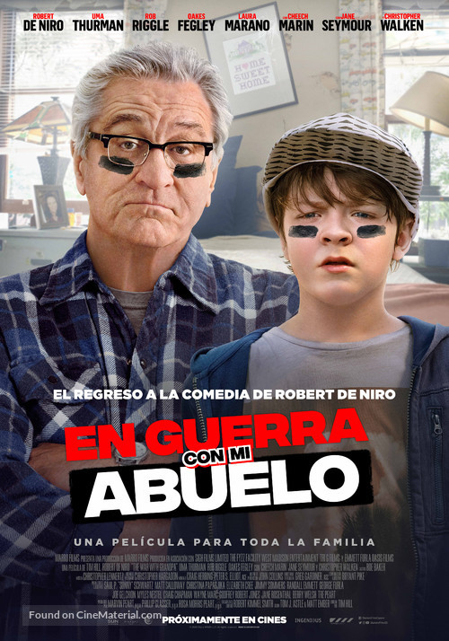 The War with Grandpa - Spanish Movie Poster