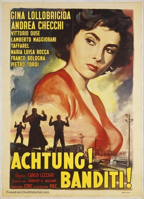 Achtung! Banditi! - Italian Movie Poster