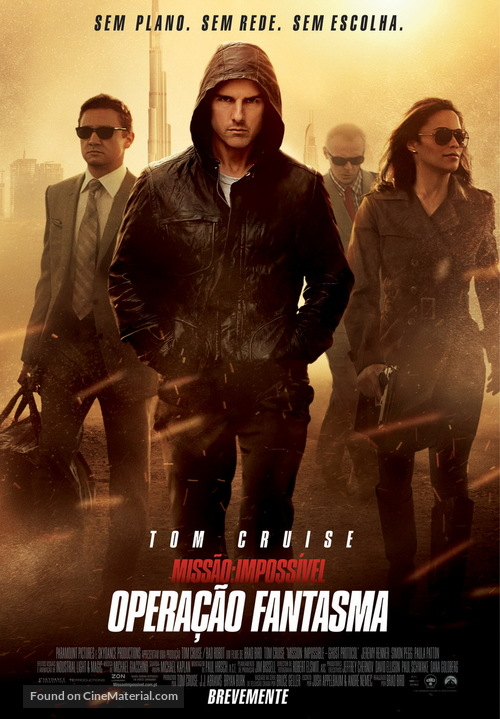 Mission: Impossible - Ghost Protocol - Portuguese Movie Poster
