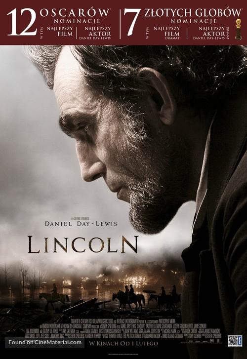 Lincoln - Polish Movie Poster