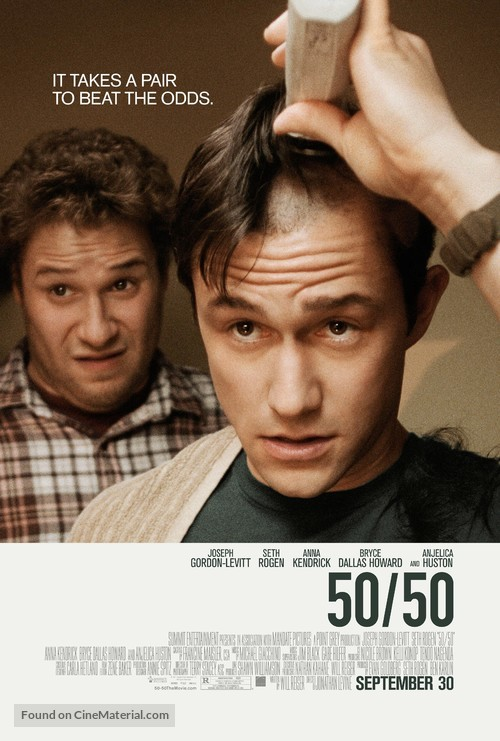 50/50 - Movie Poster