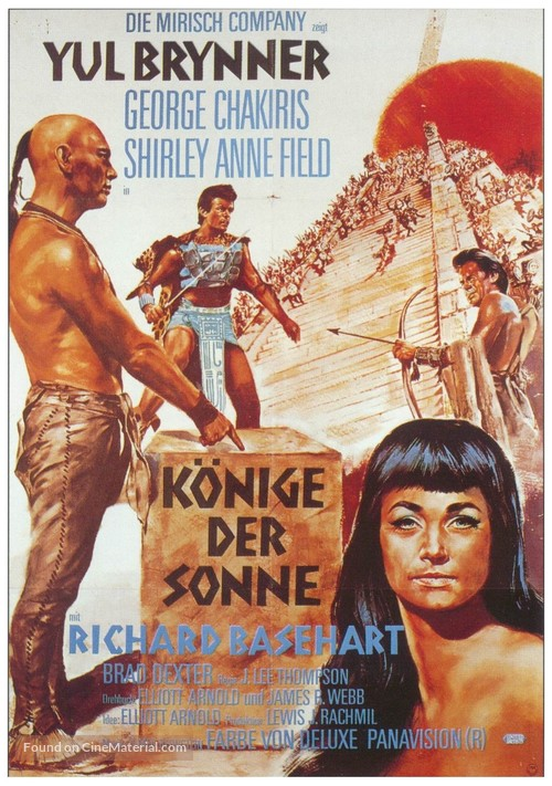 Kings of the Sun - German Movie Poster