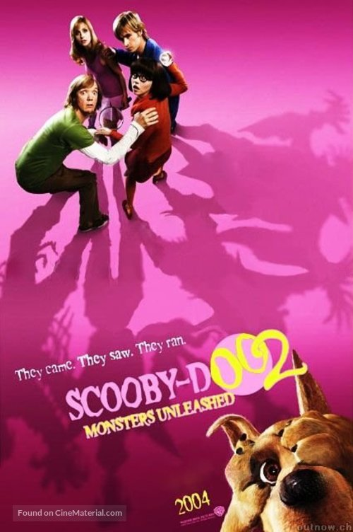 Scooby Doo 2 Monsters Unleashed 2004 Movie Poster