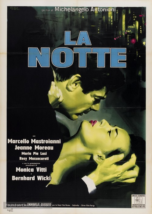 La notte - Italian Movie Poster