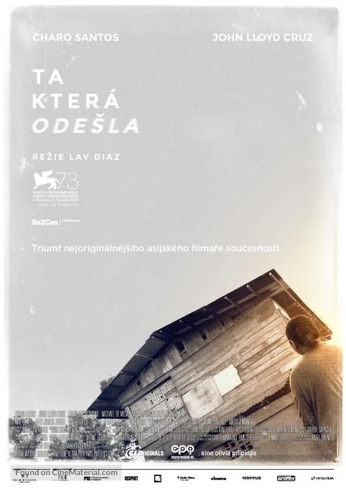 Ang babaeng humayo - Czech Movie Poster