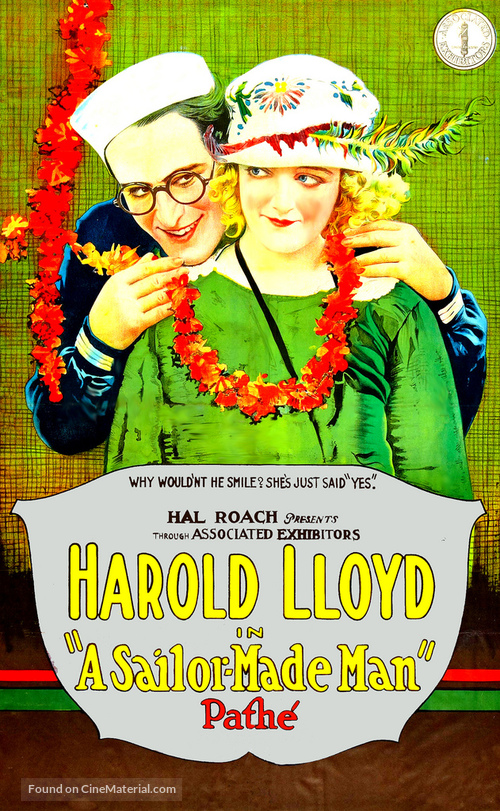A Sailor-Made Man - Movie Poster