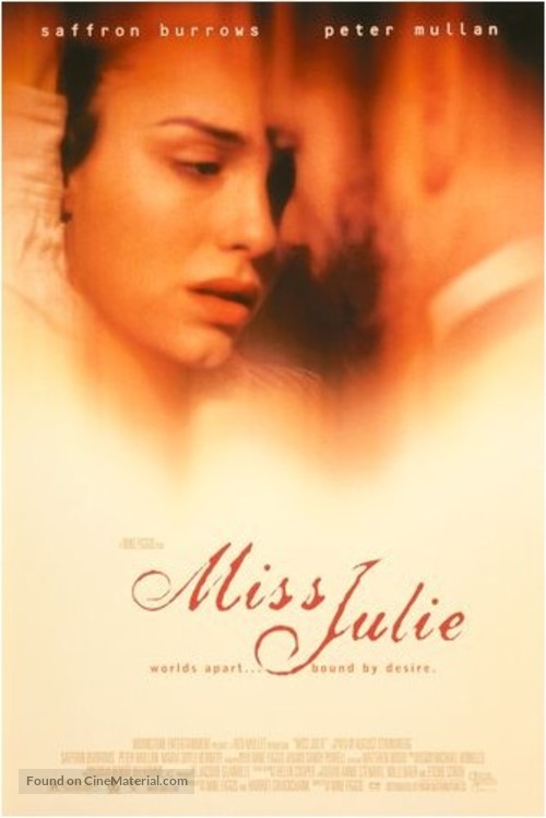 Miss Julie - Movie Poster