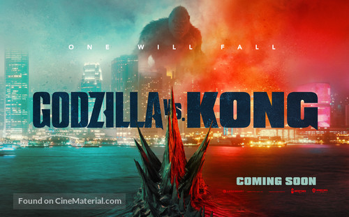 Godzilla vs. Kong - British Movie Poster