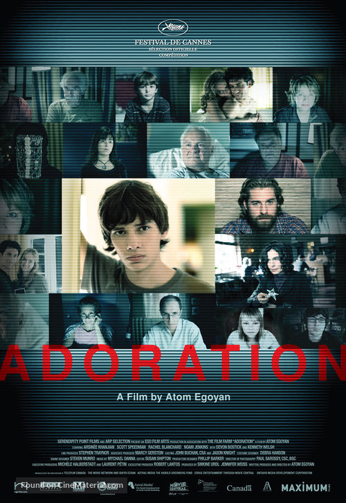 Adoration - Canadian Movie Poster