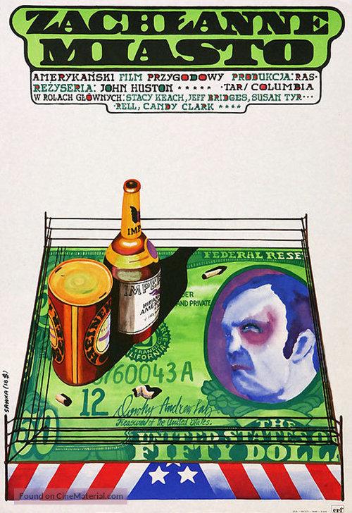 Fat City - Polish Movie Poster
