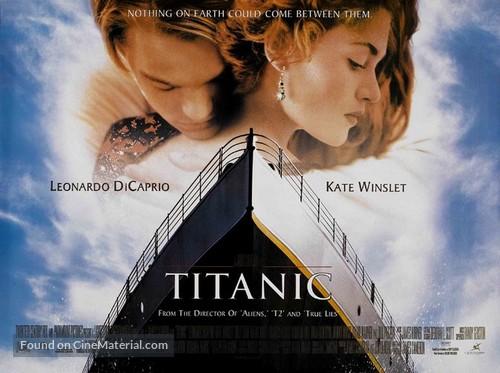 Titanic - British Theatrical movie poster