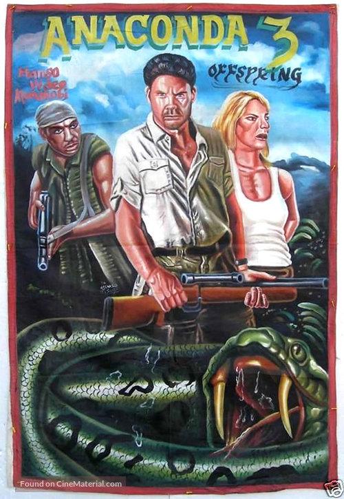 Anaconda III - Ghanian Movie Poster