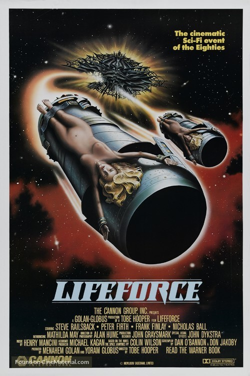 Lifeforce - Movie Poster