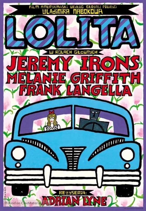 Lolita - Polish Movie Poster