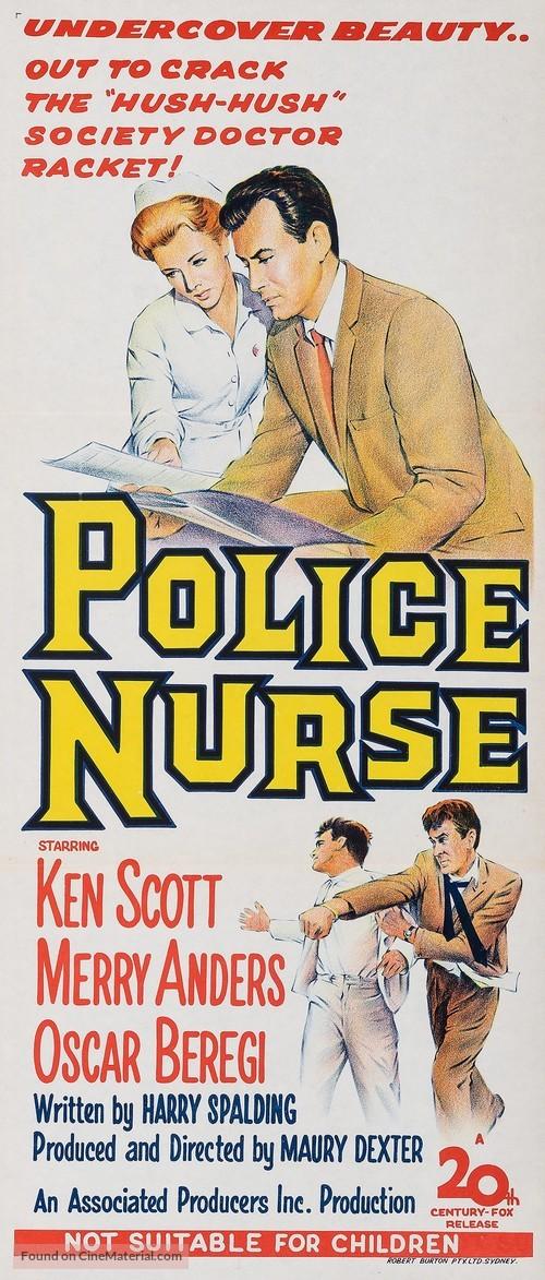 Police Nurse - Australian Movie Poster