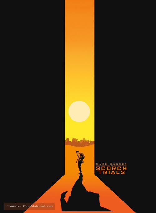 Maze Runner: The Scorch Trials - Movie Poster