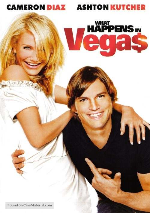 What Happens in Vegas - DVD movie cover