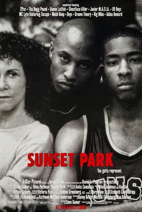 Sunset Park - Advance movie poster