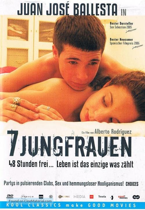7 vírgenes - German DVD movie cover
