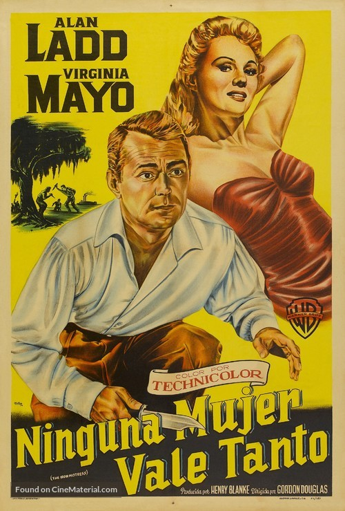 The Iron Mistress - Argentinian Movie Poster