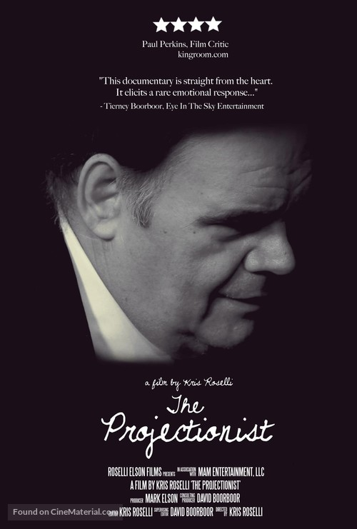 The Projectionist: A Passion for Film - Movie Poster