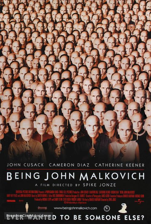 Being John Malkovich - Movie Poster