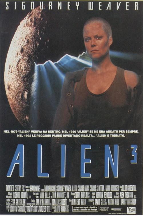 Alien 3 - Italian Movie Poster