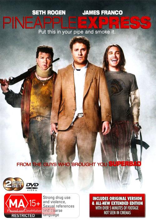 Pineapple Express - Australian DVD movie cover