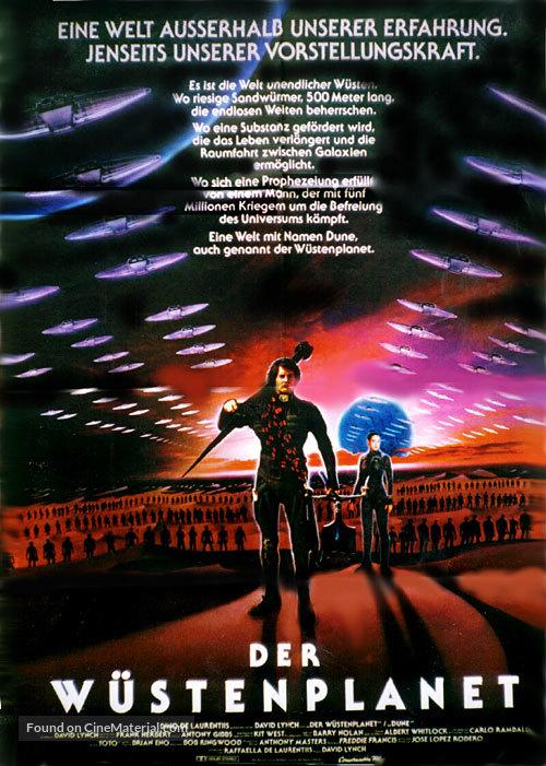 Dune - German Movie Poster
