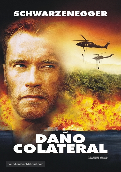 Collateral Damage - Argentinian DVD movie cover