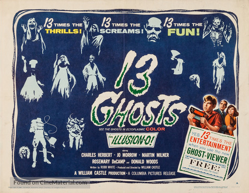 13 Ghosts - Movie Poster