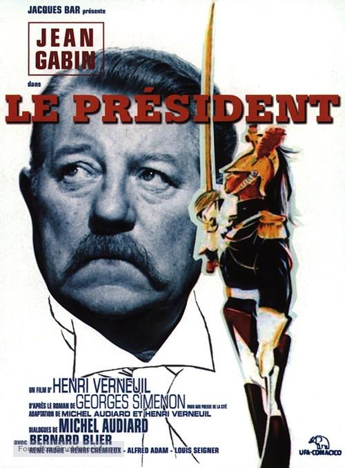Le président - French Movie Poster