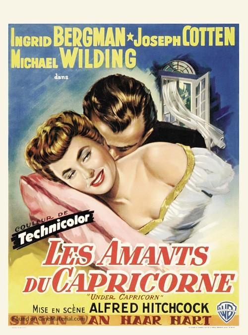 Under Capricorn - Belgian Movie Poster