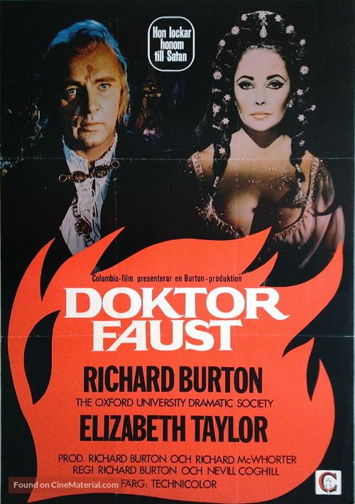 Doctor Faustus - Swedish Movie Poster