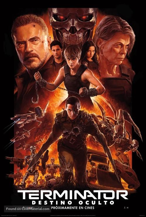 Terminator: Dark Fate - Mexican Movie Poster