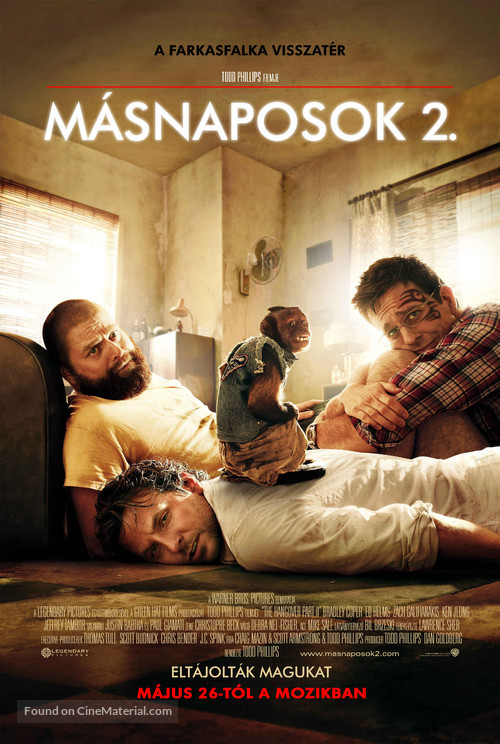 The Hangover Part II - Hungarian Movie Poster