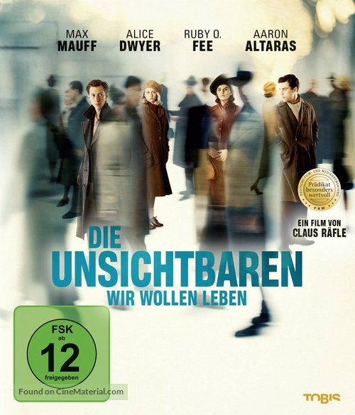 Die Unsichtbaren - German Blu-Ray movie cover